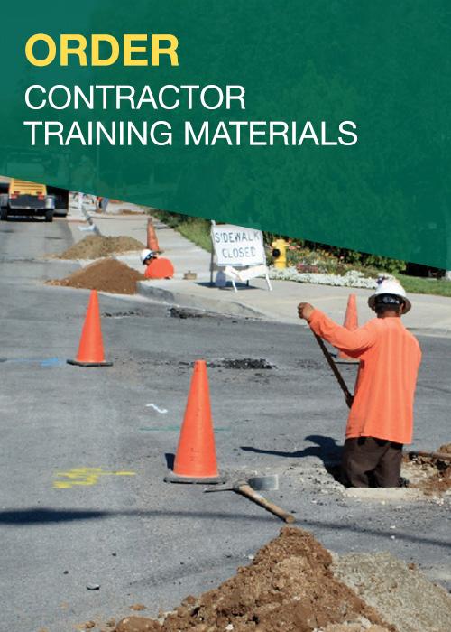 Order Contractor Training Materials