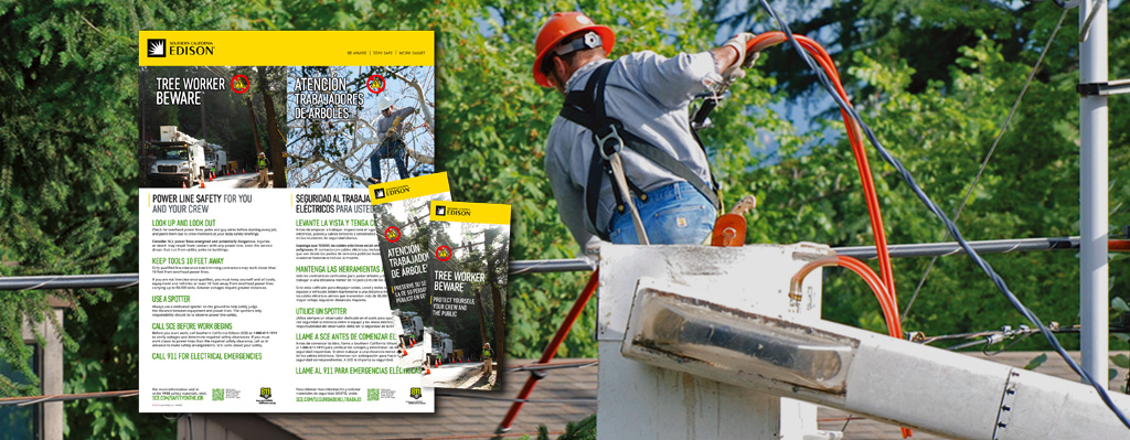 SCE Tree Worker Safety Material Order Page